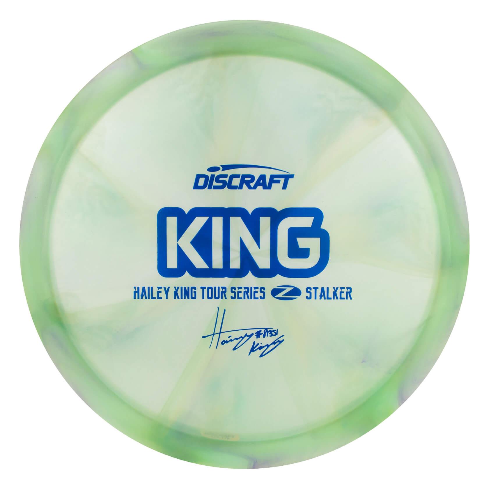 Discraft Swirly Z Stalker Hailey King Tour Series