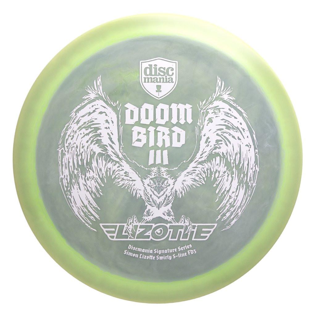 Discmania Swirly S-Line FD3 Lizotte Tour Series Doom Bird III