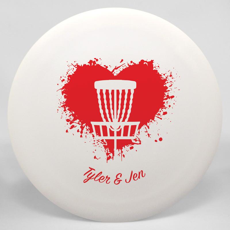 Semi-Custom Discraft Buzzz Love Disc Golf Disc
