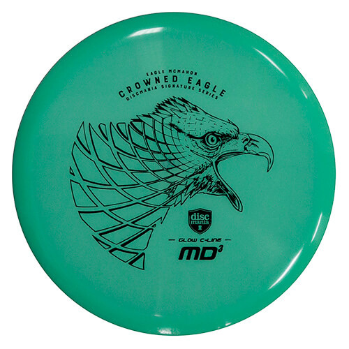 Discmania Eagle McMahon Signature Color Glow C-Line MD3 Crowned Eagle