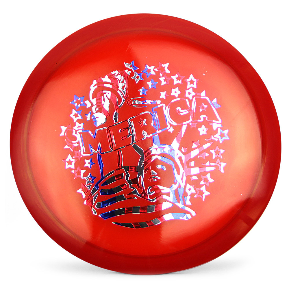 Flag Stamped Lady Liberty Dynamic Discs Lucid Maverick