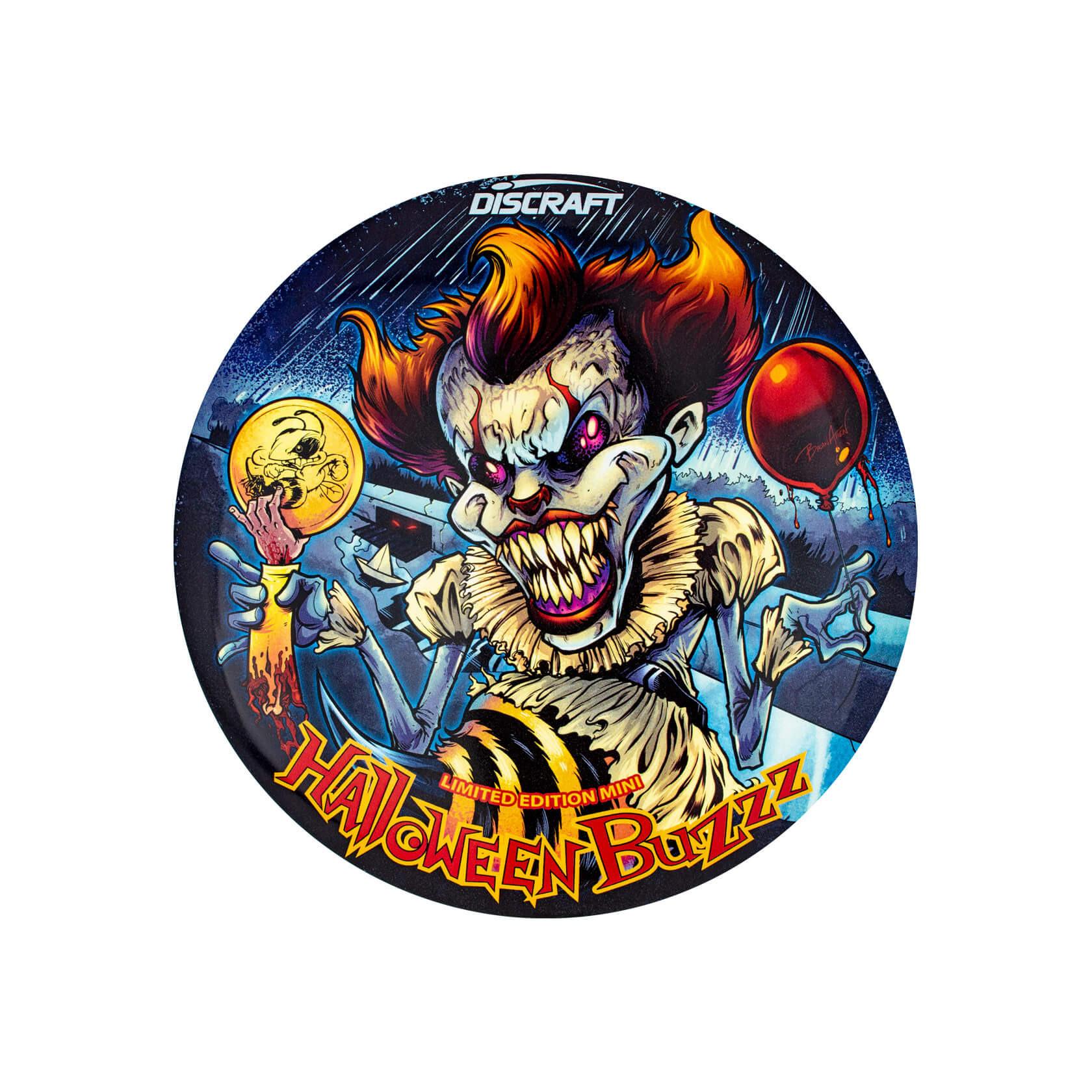 Discraft 2019 Halloween SuperColor Elite Z Glo Mini Buzzz