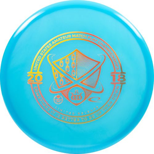 Dynamic Discs Color Glow Moonshine Judge USAMPC Stamp