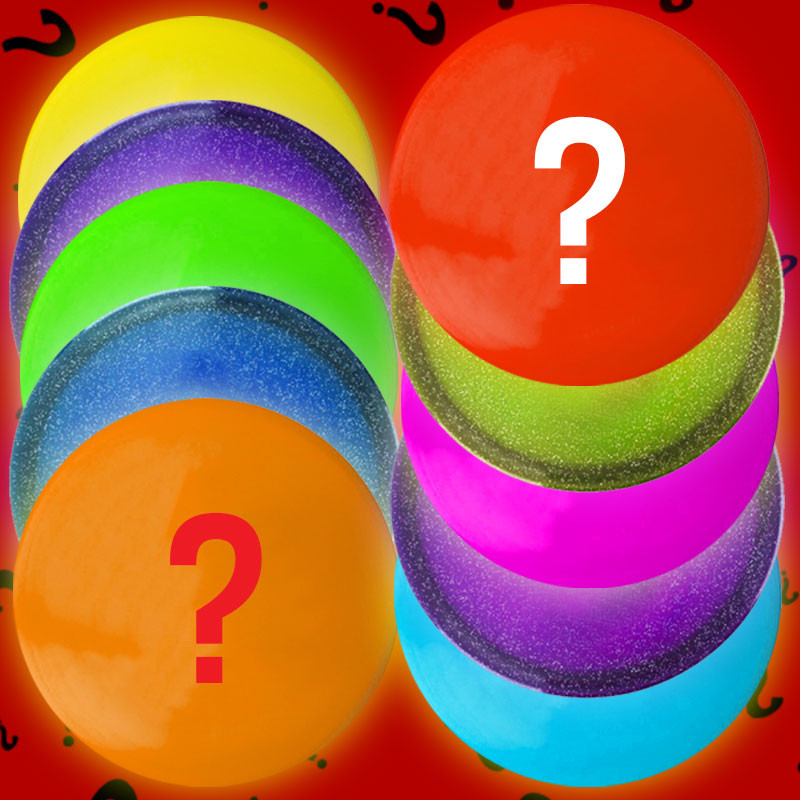 Disc Golf 10-Disc Mystery Bundle