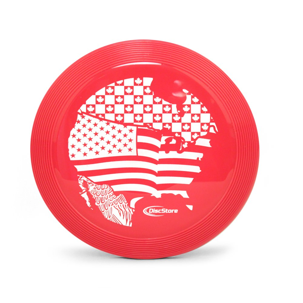 Mini North America Ultimate Frisbee Disc
