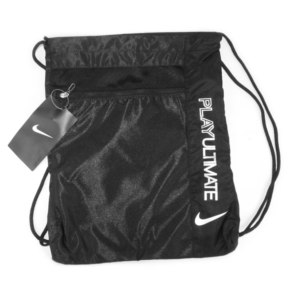 Play Ultimate Nike Cinch Bag-black