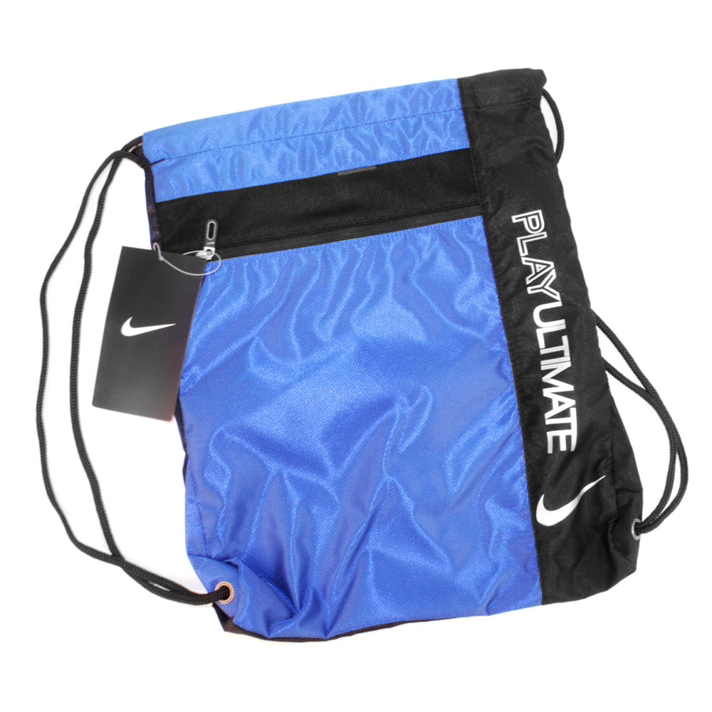 Play Ultimate Nike Cinch Bag-blue