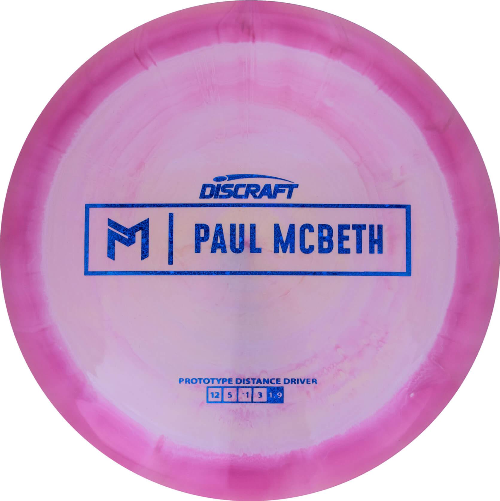 Discraft Swirly ESP Paul McBeth Prototype Kong