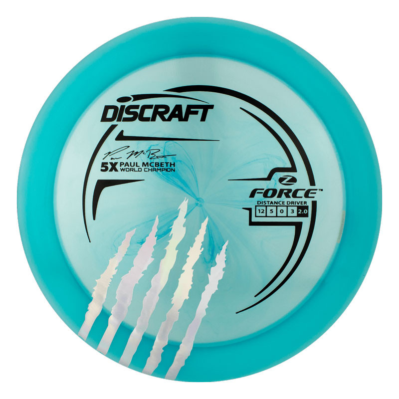 Discraft Paul McBeth 5x Signature Series Elite Z Force
