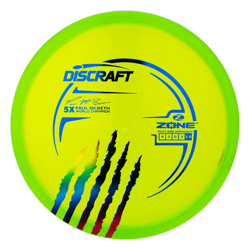 Discraft Paul McBeth 5x Signature Series Elite Z Zone