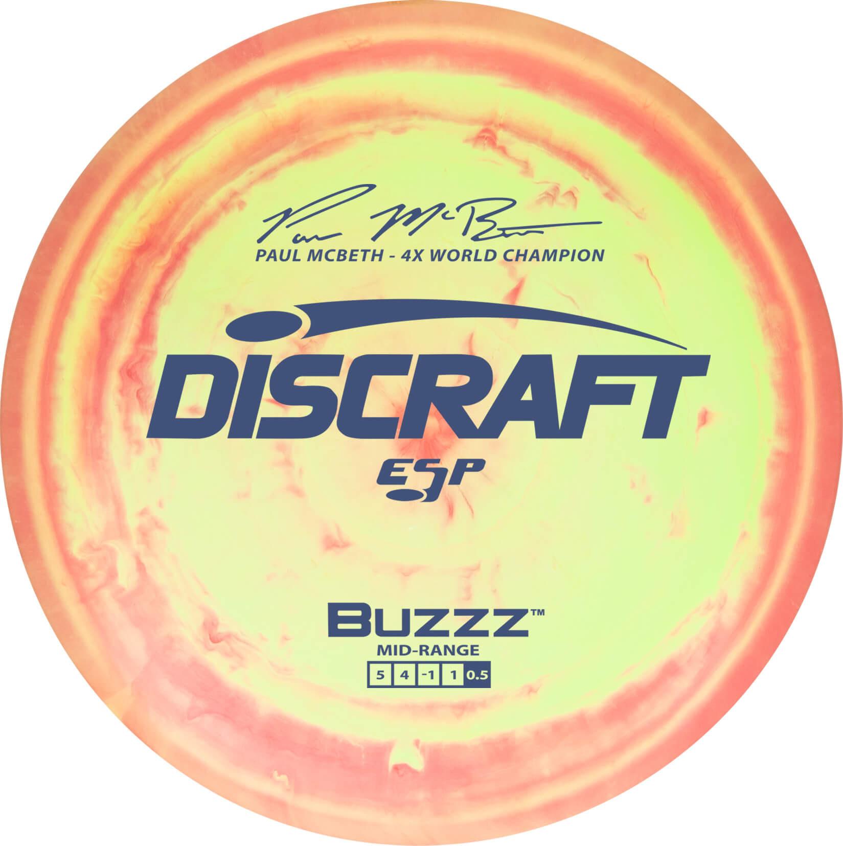Discraft Paul McBeth Swirly ESP Buzzz