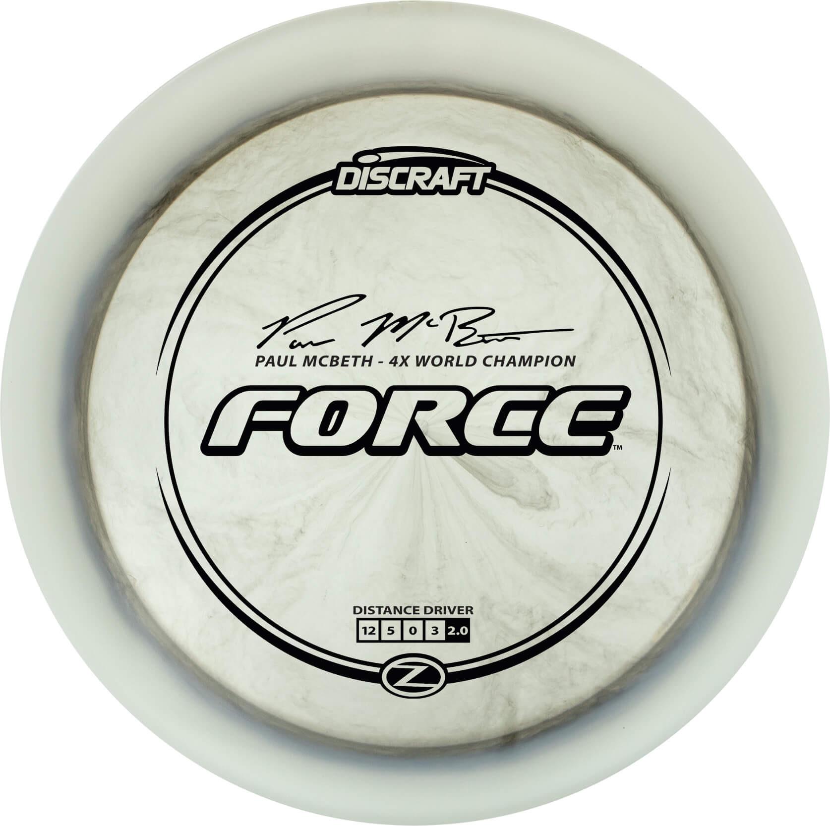 Discraft Paul McBeth Elite Z Force