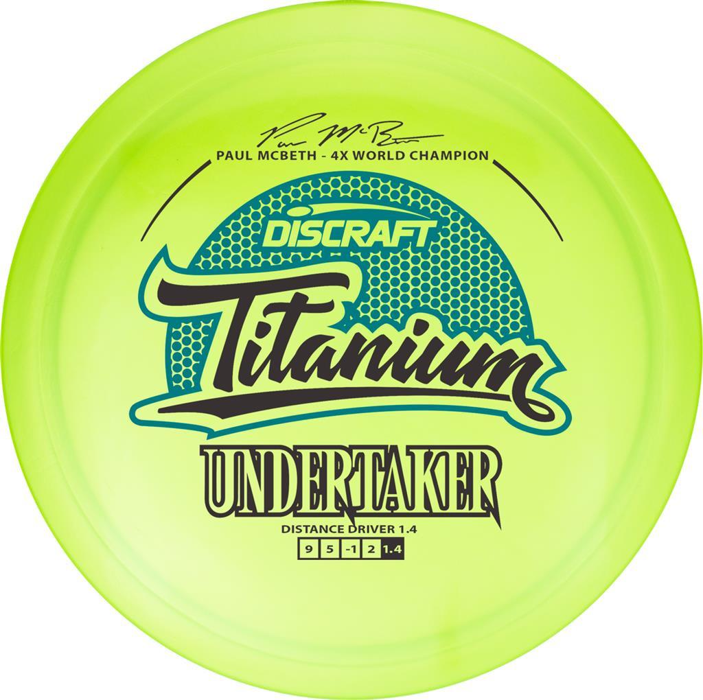 Discraft Paul McBeth Titanium Undertaker