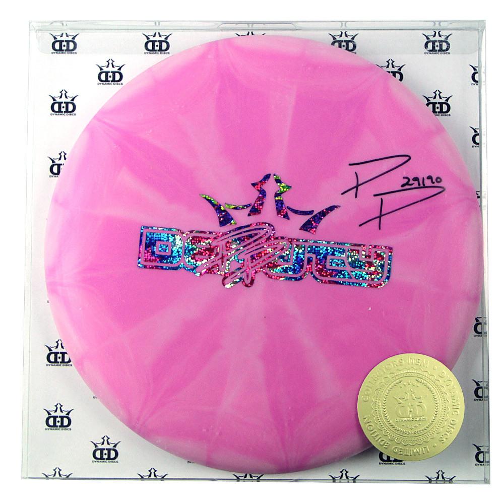 Paige Pierce Autographed Dynamic Discs Prime Moonshine Burst Deputy