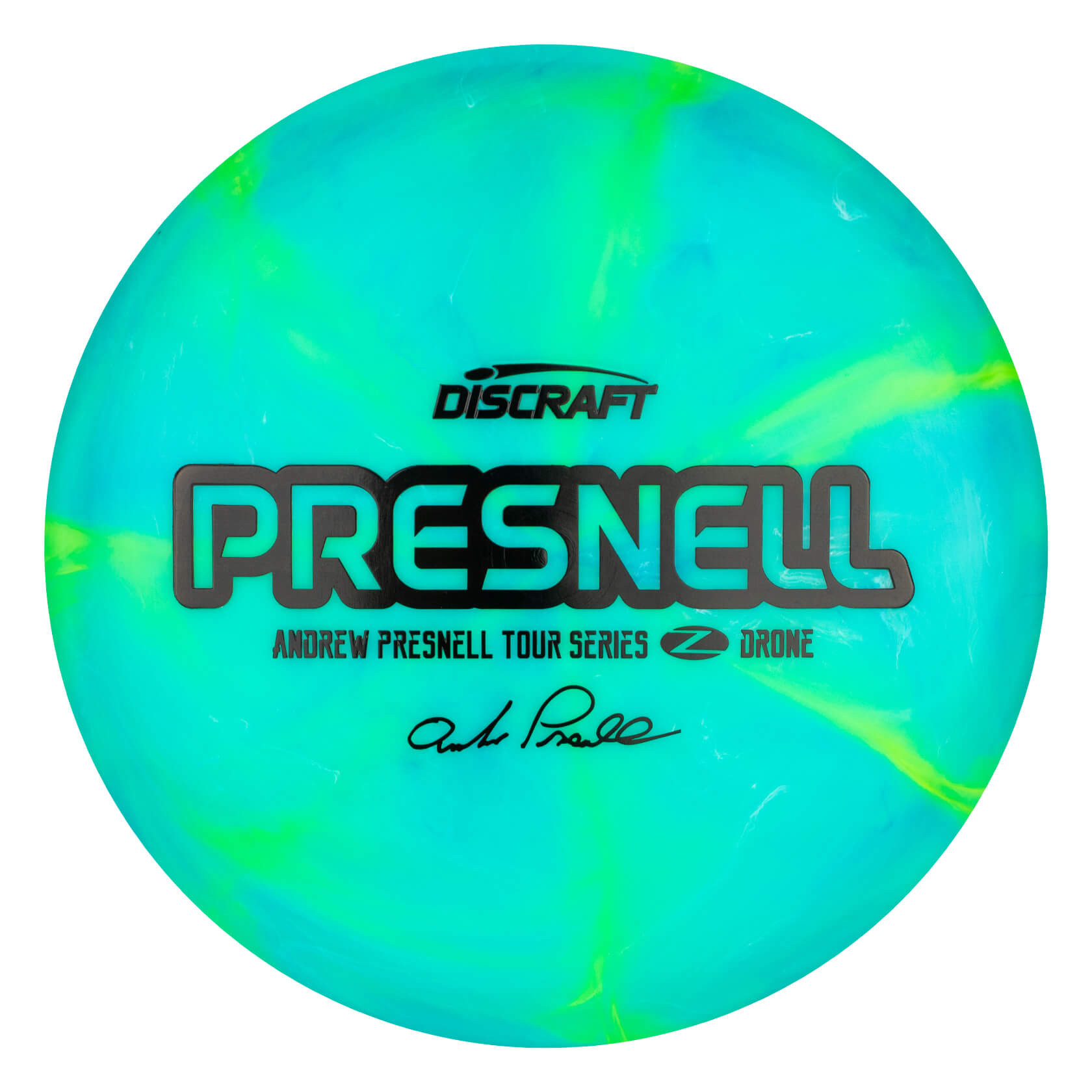 Discraft Swirly Z Drone Andrew Presnell 2020 Tour Series