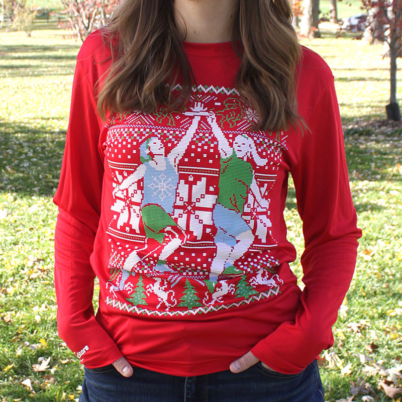 Ultimate Skying Ugly Sweater Long Sleeve Jersey