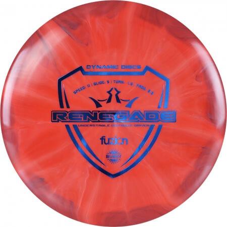 Dynamic Discs Fuzion Burst Renegade
