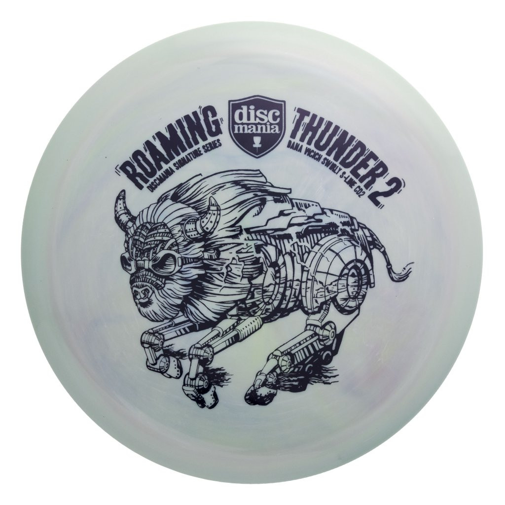 Discmania Swirly S-line CD2 Dana Vicich Roaming Thunder 2 Tour Series