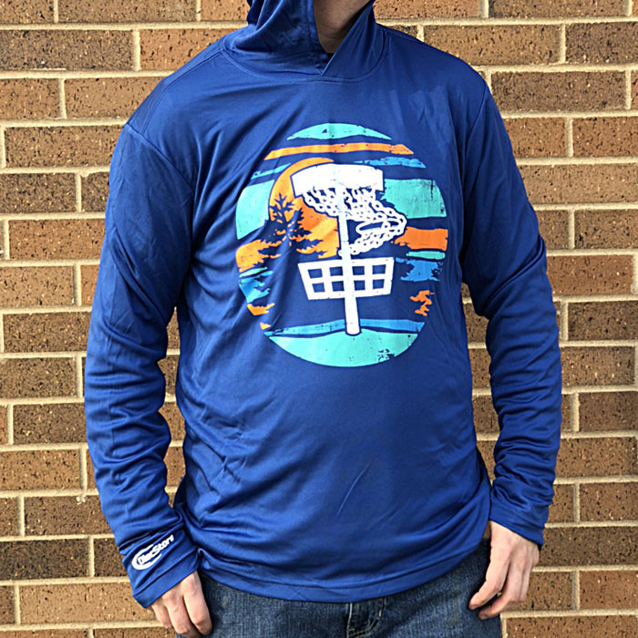 Disc Golf Vista Dry Fit Hoodie