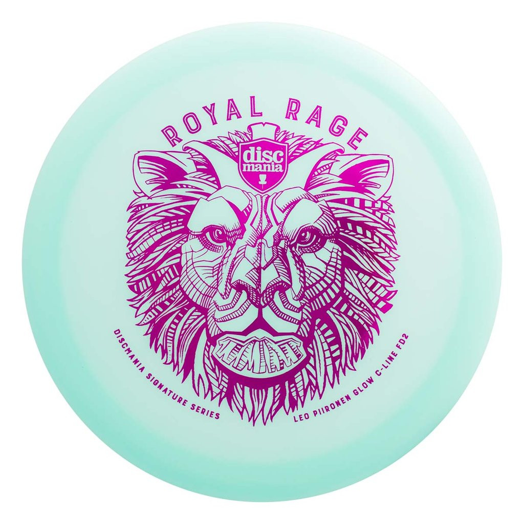 Discmania Leo Piironen Signature Color Glow C-Line FD2 Royal Rage