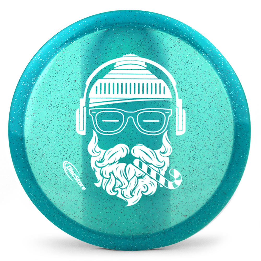 Dynamic Discs Lucid Glitter EMAC Truth Hipster Santa