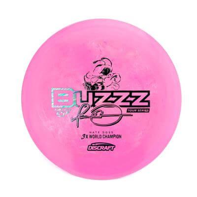 Discraft Swirly ESP Glo Buzzz Nate Doss Tour Series