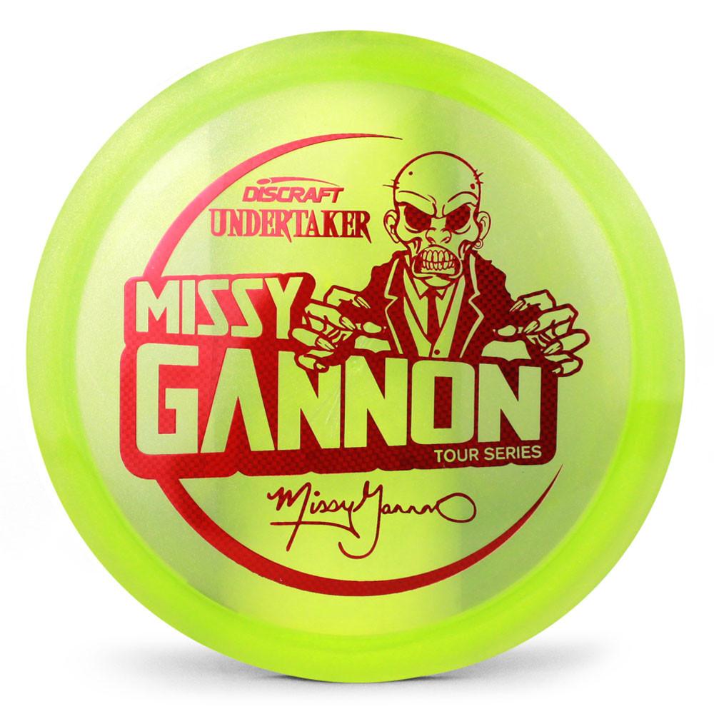 Discraft Metallic Z Undertaker Missy Gannon Tour Series