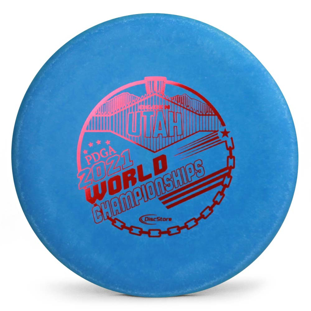 Gateway Nylon Wizard 2021 PDGA Pro Worlds Fundraiser Stamp