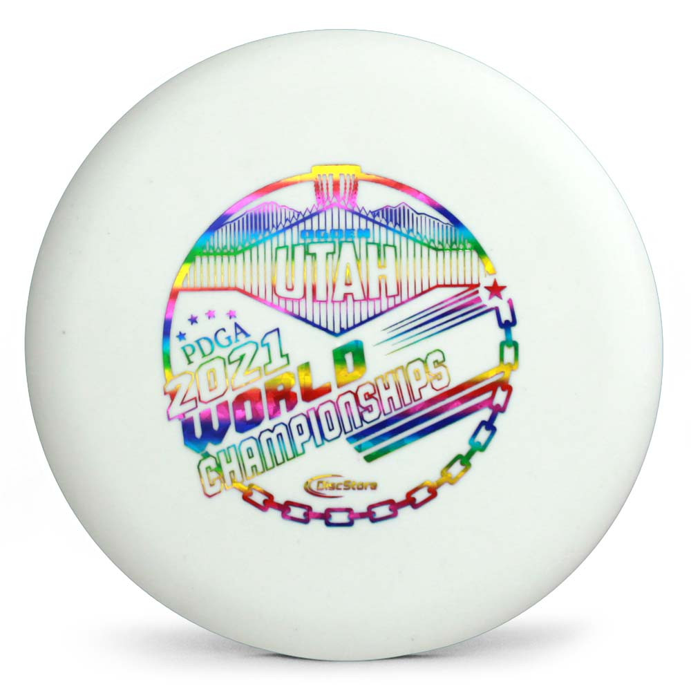 Gateway SS Super Glow Wizard 2021 PDGA Pro Worlds Fundraiser Stamp