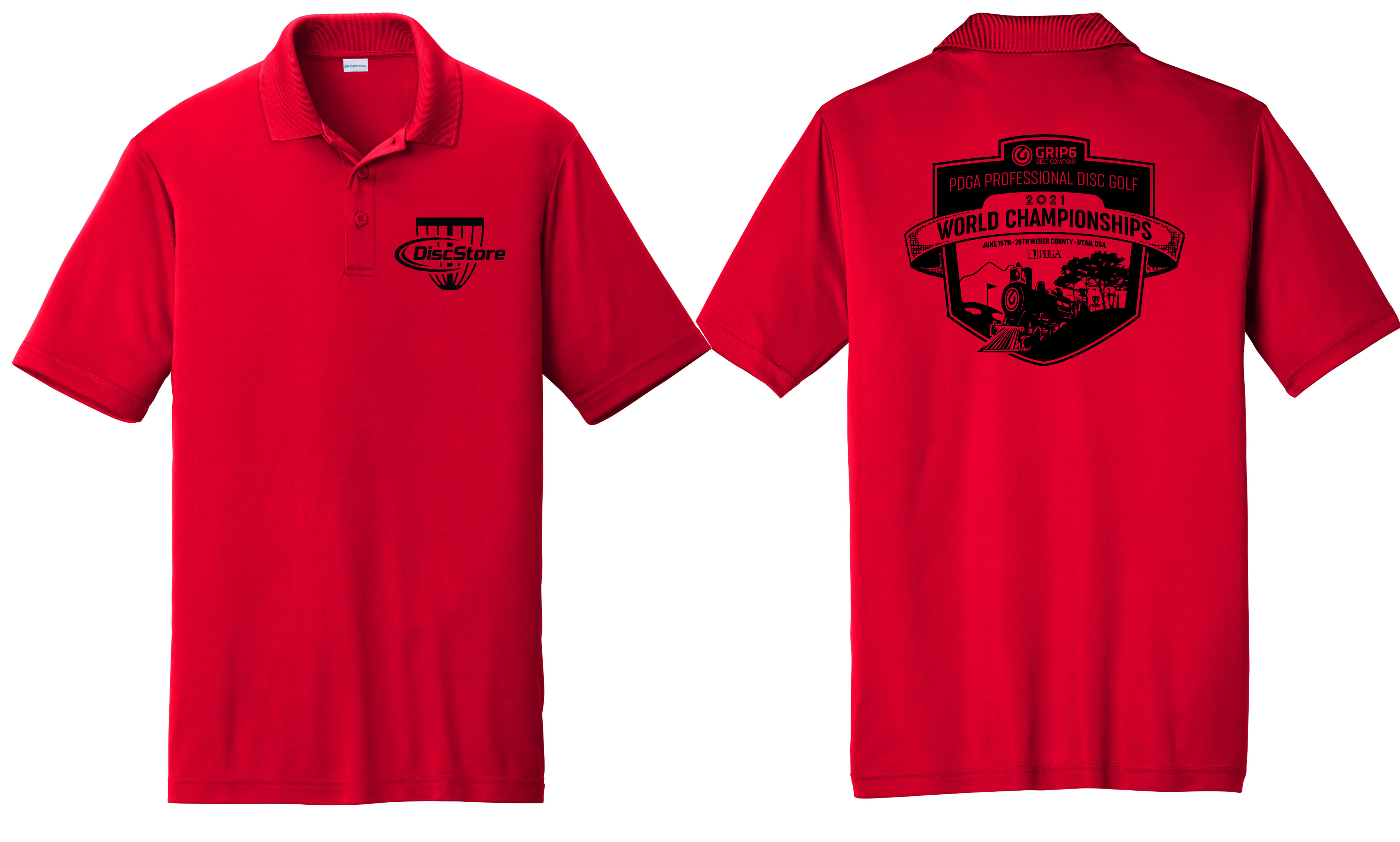 2021 Pro Worlds Fundraiser Performance Dri Fit Polo