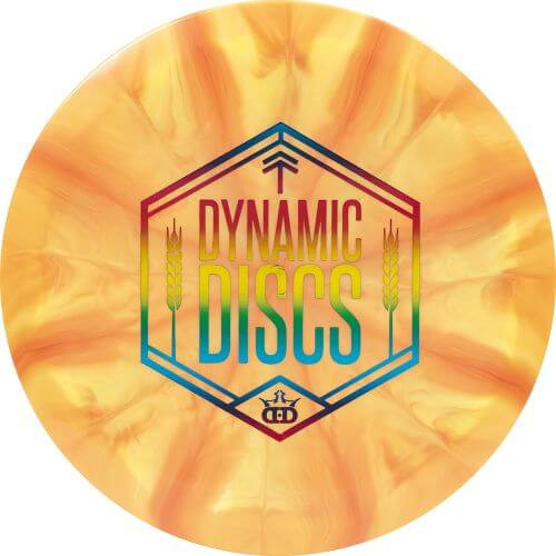 Dynamic Discs Wheat Shield Fuzion Burst Felon