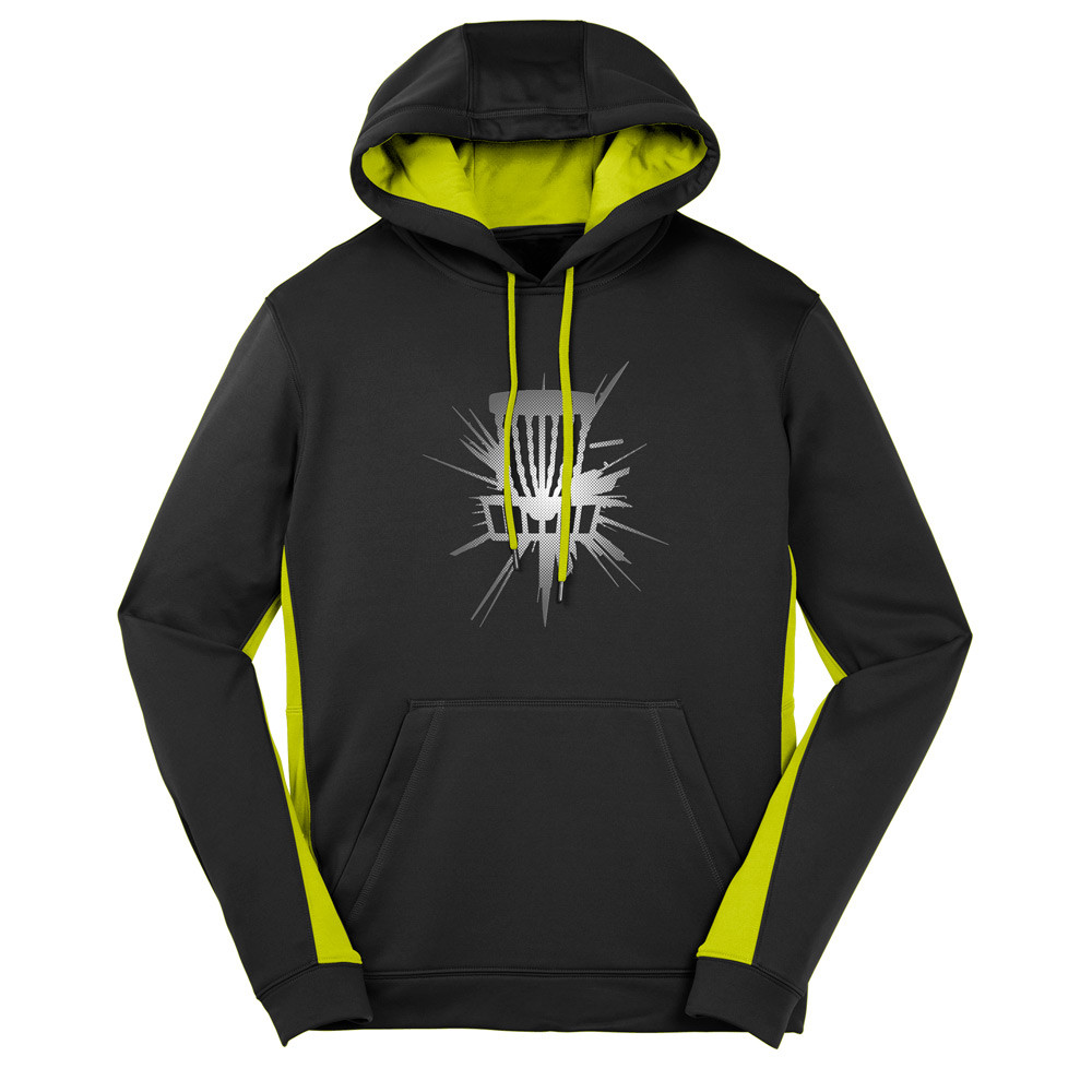 Shattered Basket Performance Dry Fit Hoodie