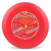 Innova DX Aviar 2021 PDGA Pro Worlds Fundraiser Stamp