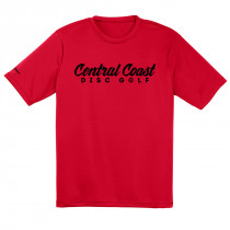 Central Coast Disc Golf Text Logo Dry Fit