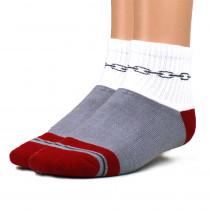 Disc Golf Chain Ankle Socks