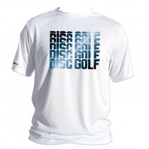 Brushed Metal Disc Golf Dry Fit Sublimated Shirt
