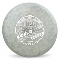 Gateway Diamond Metal Flake Super Glow Element 2021 PDGA Pro Worlds Fundraiser Stamp