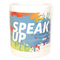 E.R.I.C. Speak Up Mug