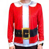 Santa Suit Full Sub Long Sleeve Jersey