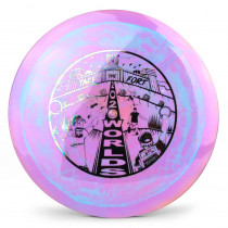 "Prodigy 500 Spectrum FX-2 2020 ""Take The Fort"" PDGA Pro Worlds Fundraiser Stamp"