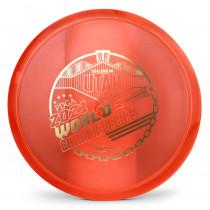 Innova Champion Mako3 2021 PDGA Pro Worlds Fundraiser Stamp