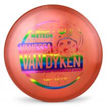 Discraft Metallic Z Meteor Van Dyken Tour Series