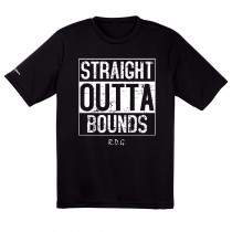 Straight Outta Bounds Dry Fit Disc Golf Shirt