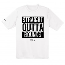 Straight Outta Bounds Sublimated Dry Fit Disc Golf Shirt