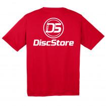 Team Disc Store Screen Printed Dri Fit Tee