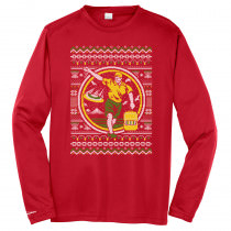 Disc Golf Ugly Sweater Long Sleeve Jersey