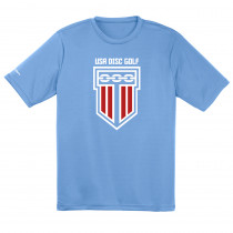 USA Disc Golf Dry Fit Shirt