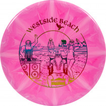 Westside Discs Fuzion Burst Maiden Beach Party Stamp