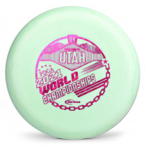 Gateway SSS Super Glow Wizard 2021 PDGA Pro Worlds Fundraiser Stamp