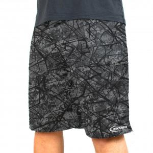 Black Shatter Full Sub Shorts